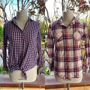 Girls (2) Shirt Bundle Size 14